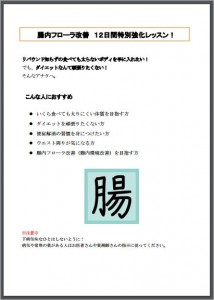 SAMPLE : 12日間ダイエット テキスト