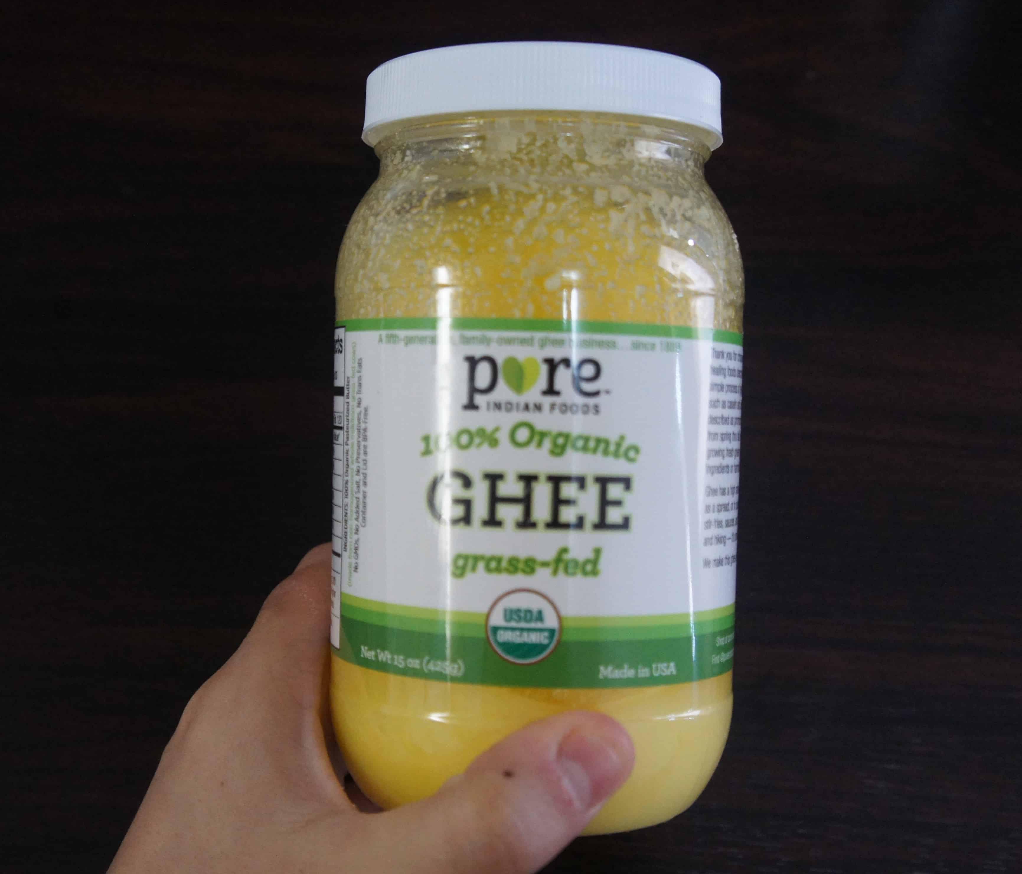 ギー バターは乳製品アレルギーの救世主。バター代用品として食べれるよ!